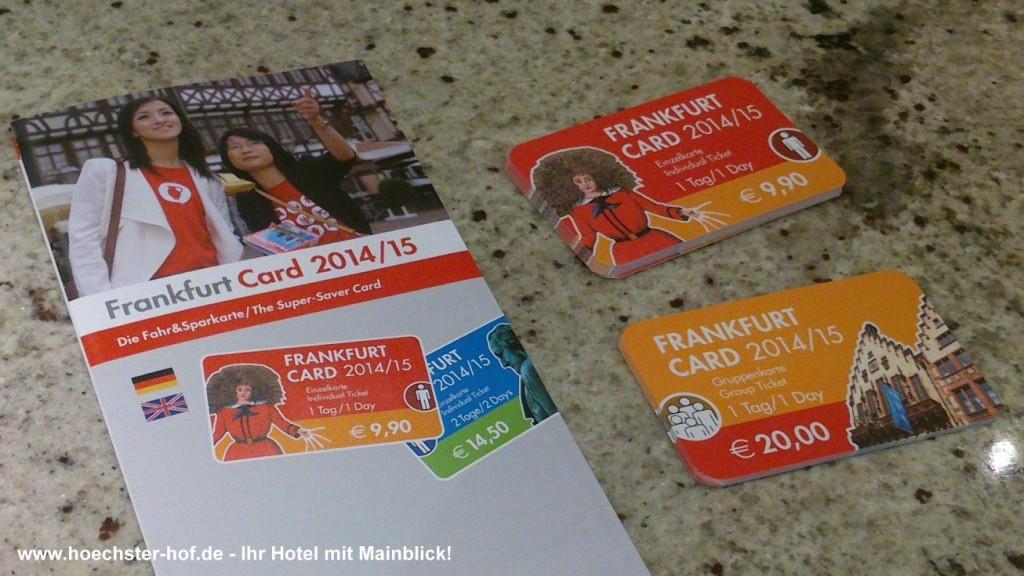 Frankfurt Card Höchster Hof