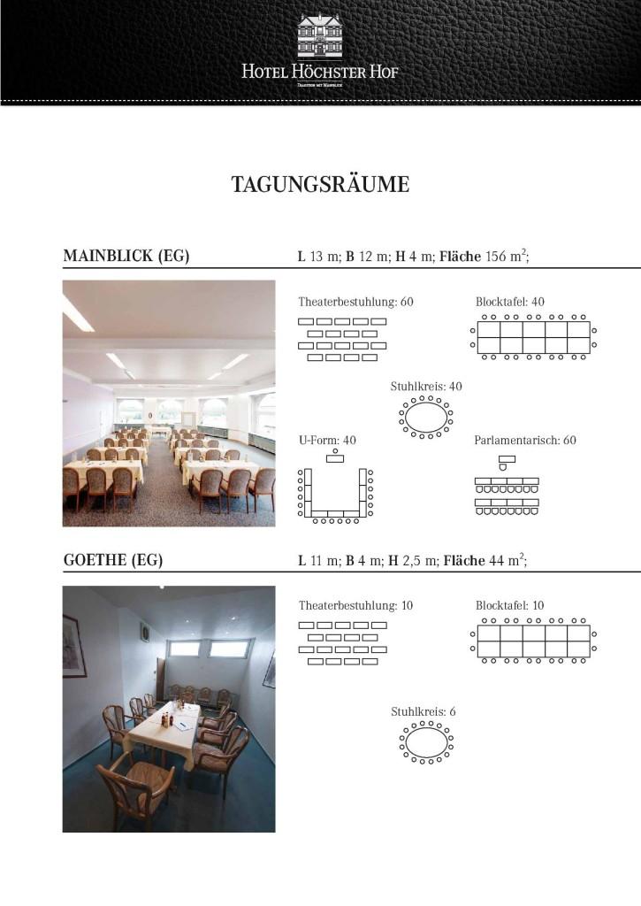 Tagungshotel Höchster Hof 3
