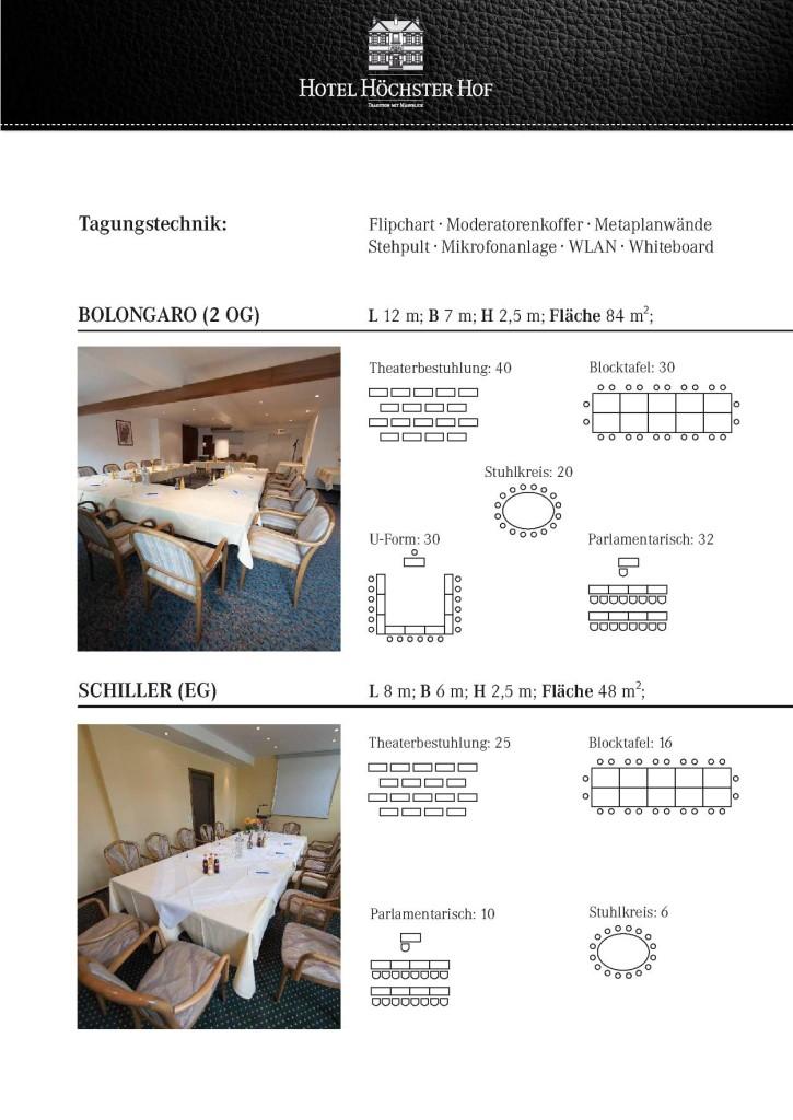 Tagungshotel Höchster Hof 4