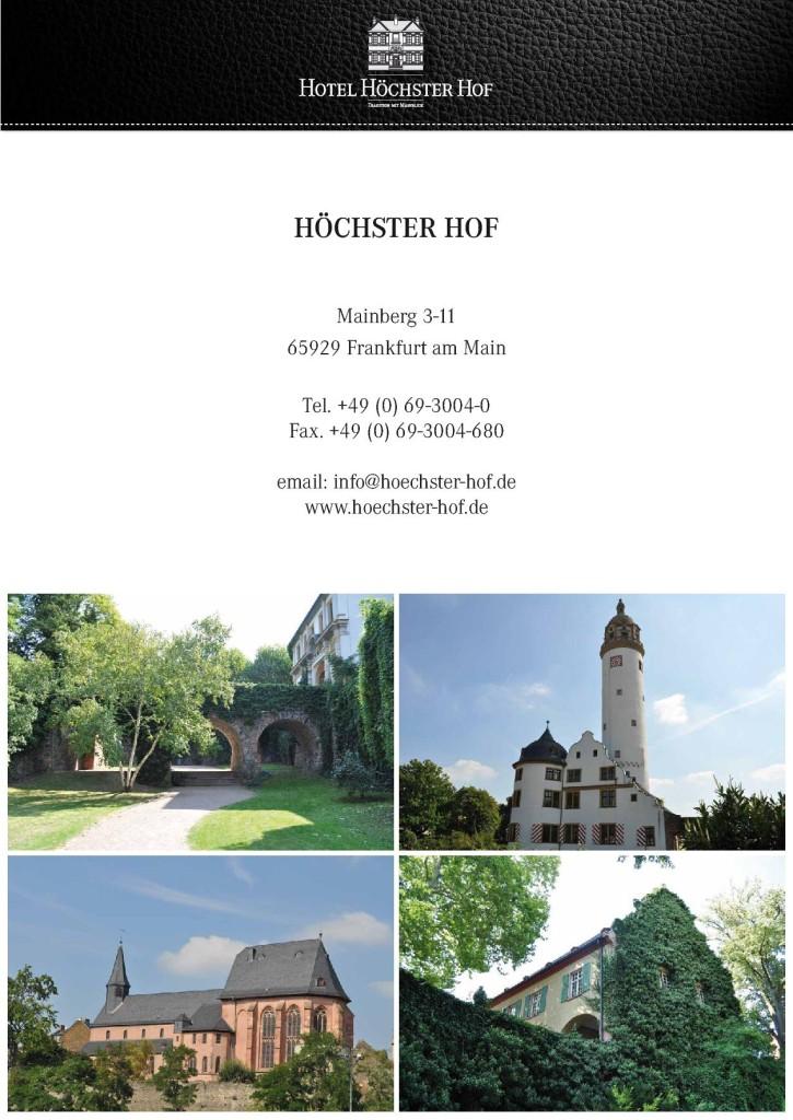Tagungshotel Höchster Hof 6