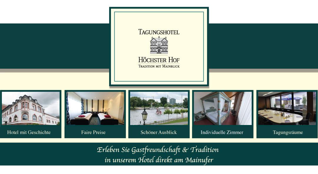 Hotel Frankfurt Höchst mit Mainblick